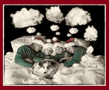 2012 Christmas card cover