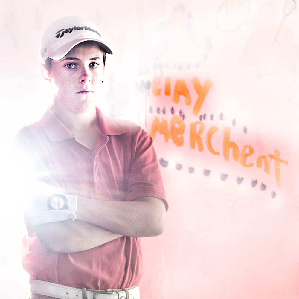 Clay Merchent, Junior Golfer